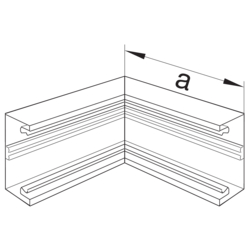 Product Drawing BRH70172 Angle intérieur  PC-ABS