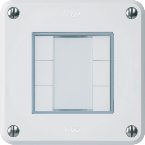WHTR40600C rob UP KNX 6 touches C